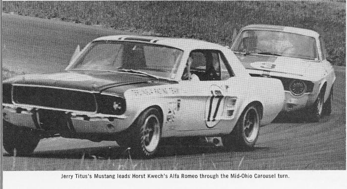 L'équipe de course Terlingua de Shelby-American en 1967 19672011