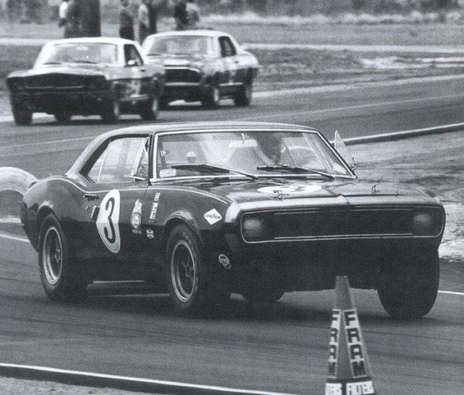 Panther - La Camaro Black Panther 1967 - Un Muscle car de rue des plus rare 22374-10