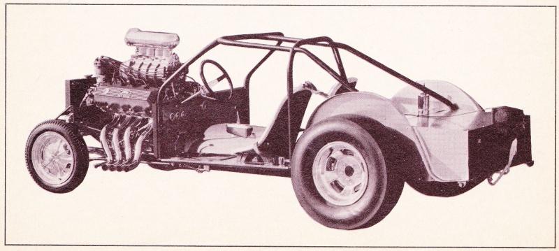 """Ohio George"" Montgomery- 1967 lightweight fiberglass Mustang-The Malco Gasser 67gass13"