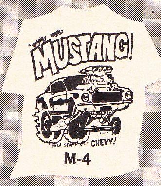 """Ohio George"" Montgomery- 1967 lightweight fiberglass Mustang-The Malco Gasser 67t-sh12"
