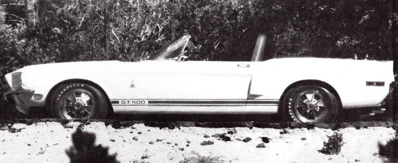 Quelque photo original de Shelby 1968 Gt500c10