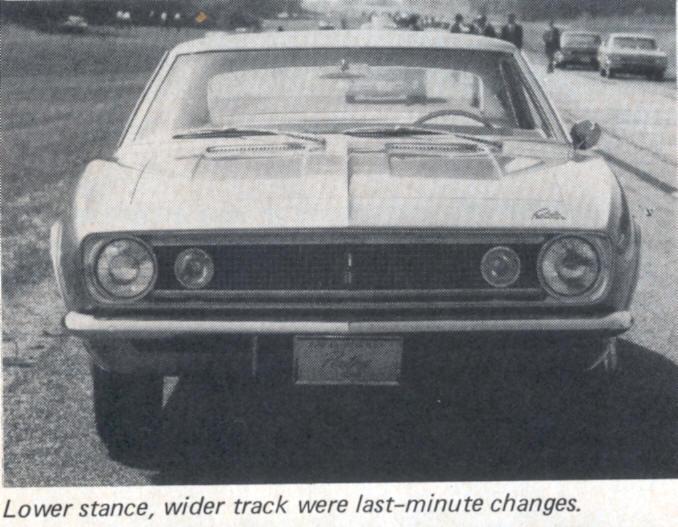 Panther - La Camaro Black Panther 1967 - Un Muscle car de rue des plus rare Panthe10