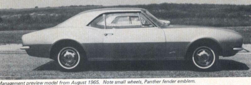 Panther - La Camaro Black Panther 1967 - Un Muscle car de rue des plus rare Panthe12