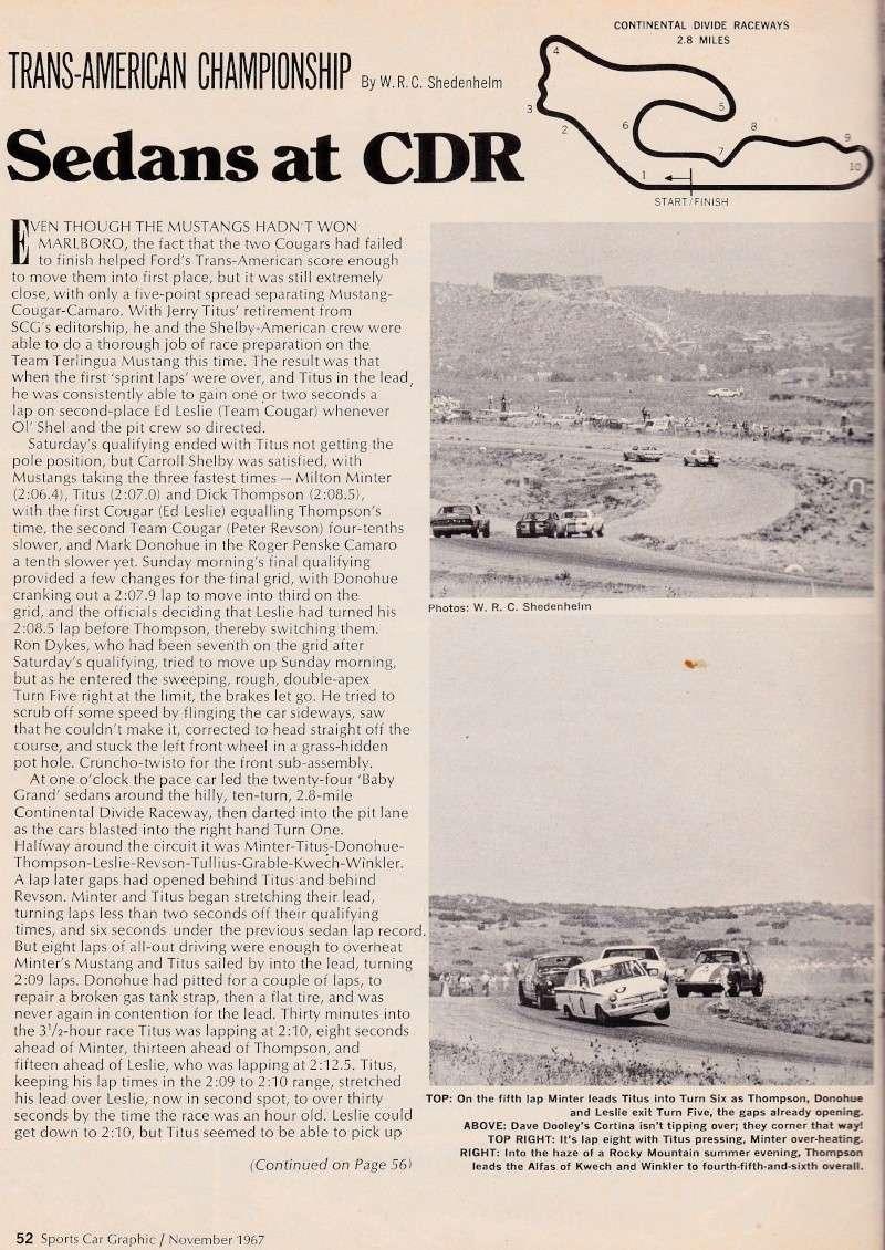 L'équipe de course Terlingua de Shelby-American en 1967 Sedanc10