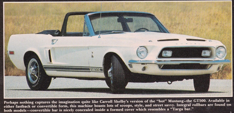 Quelque photo original de Shelby 1968 Shelby13