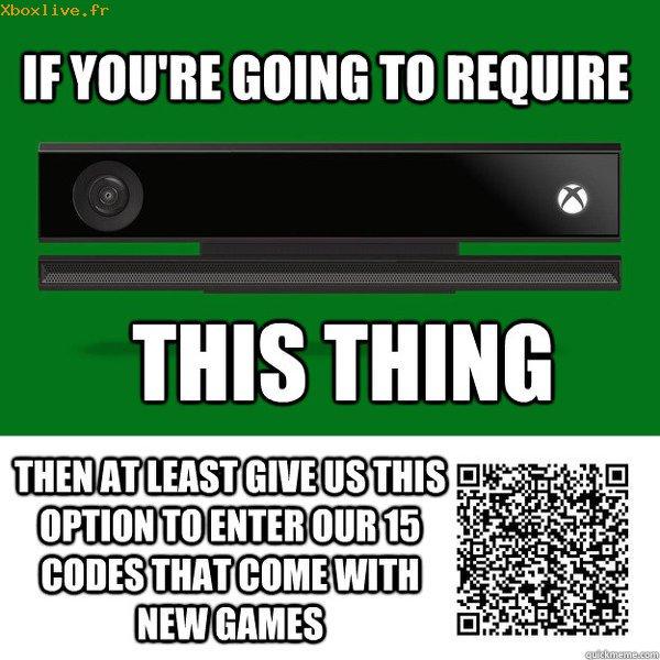 Xbox One : Plus besoin de taper vos codes à 25 caractères, scannez-les 225310