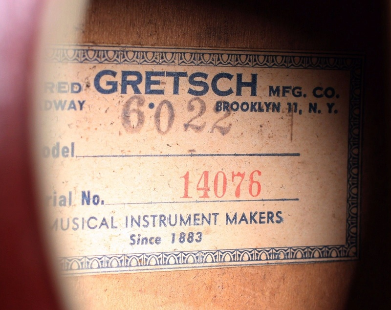 1967 GRETSCH RANCHER ACOUSTIC GUITAR Fofo11