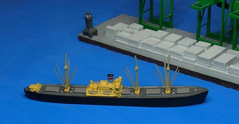 Hansa S81 1/1250 Liberty ship Hansa-10