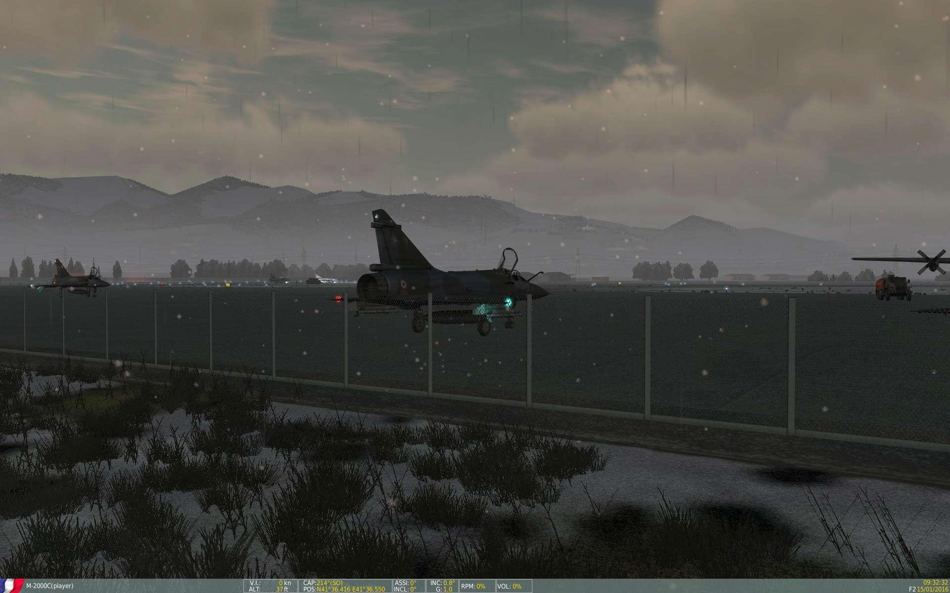 De la neige aussi sur DCS Screen13