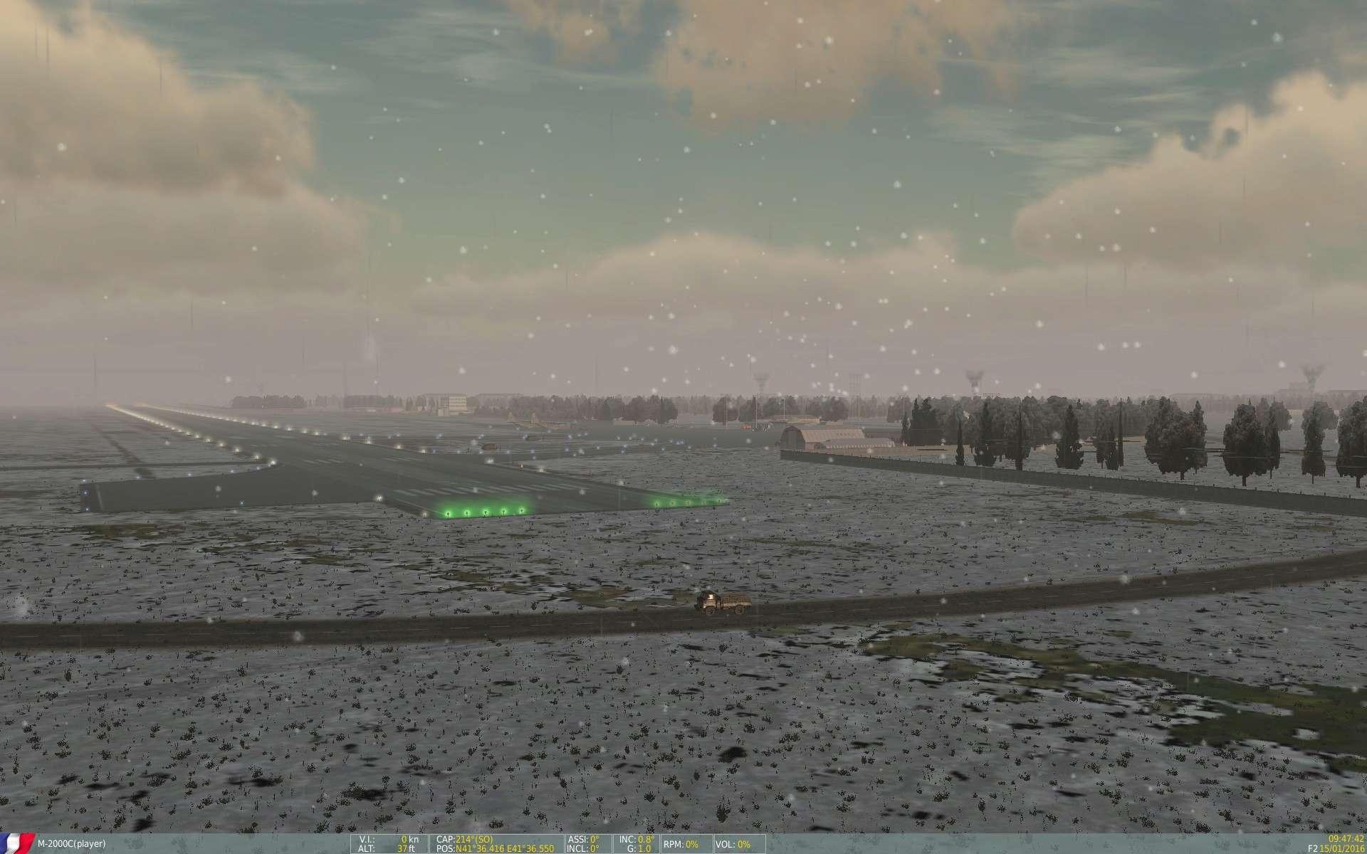 De la neige aussi sur DCS Screen19