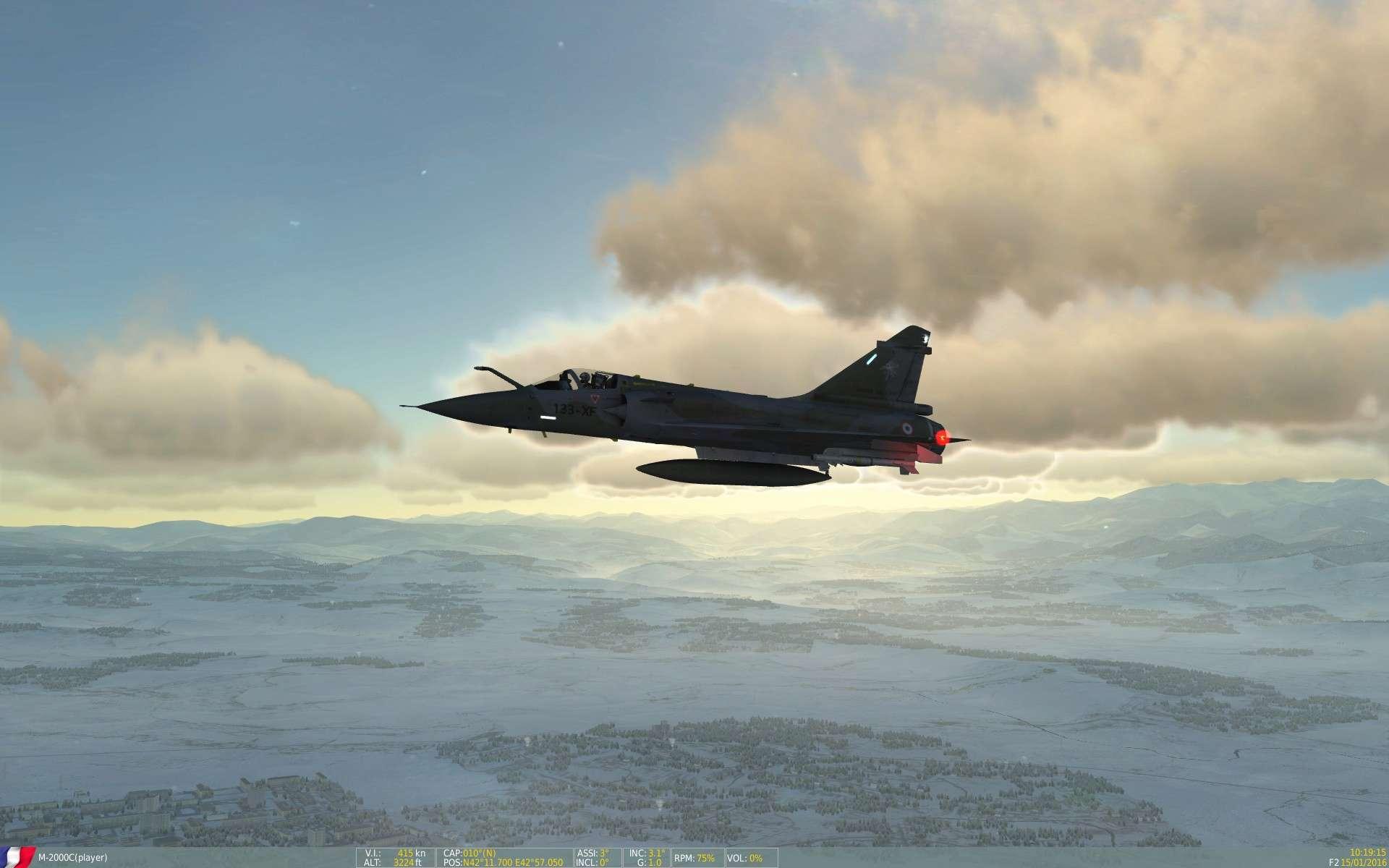De la neige aussi sur DCS Screen22