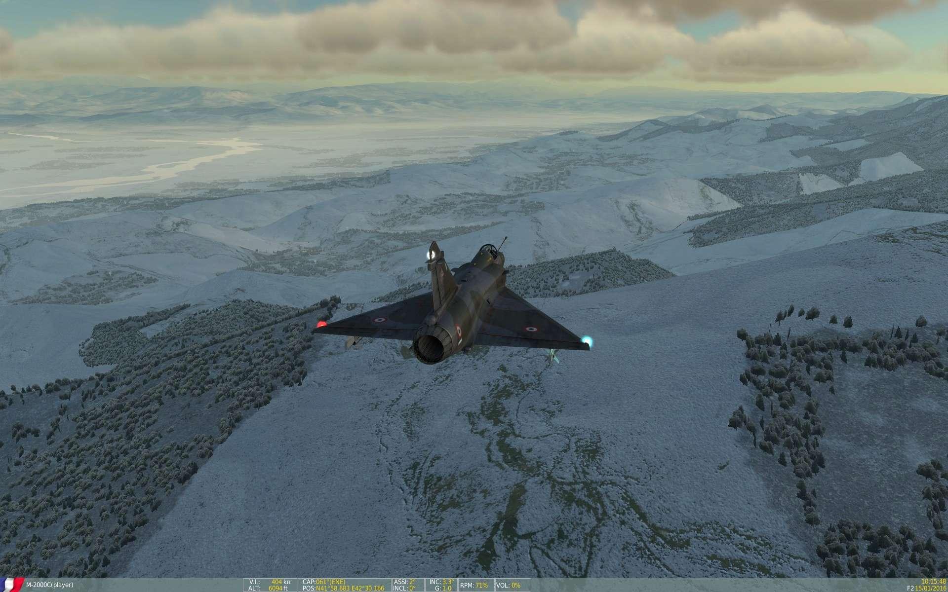 De la neige aussi sur DCS Screen28