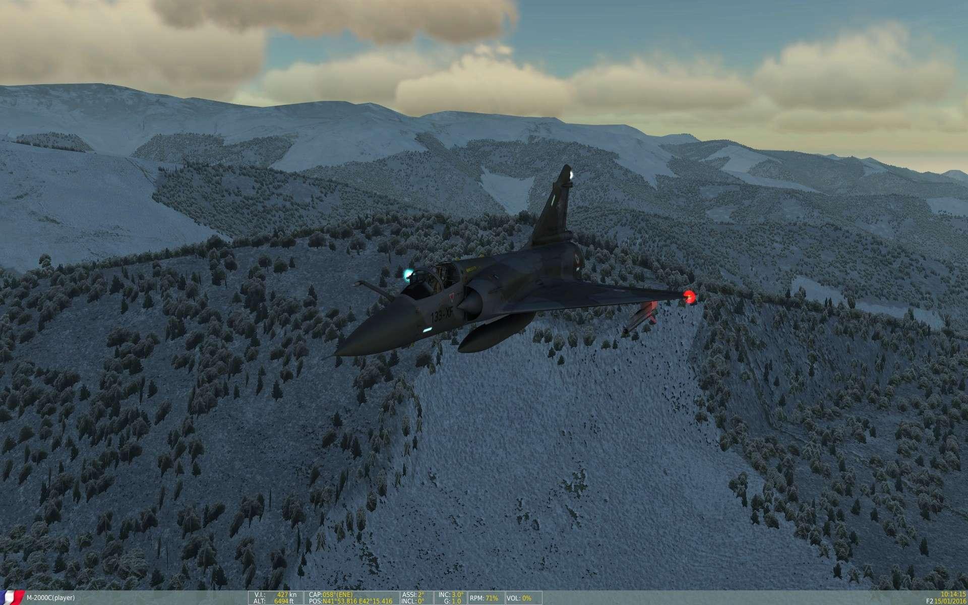 De la neige aussi sur DCS Screen29