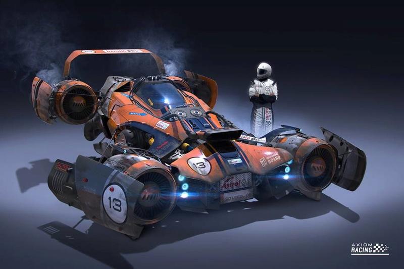 TESLA ANTIGRAV RACER 11167610