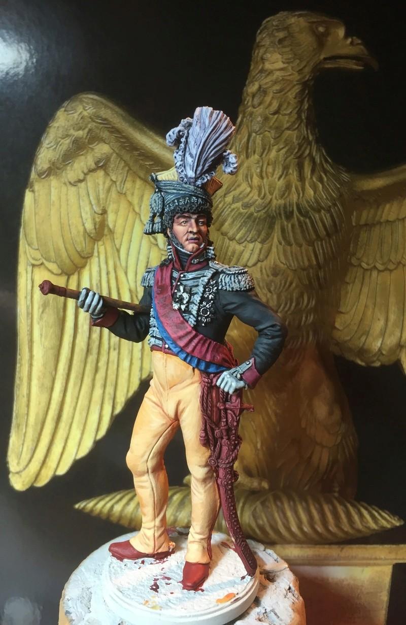 Murat en tenue de colonel des chevau-légers de sa garde. Murat111