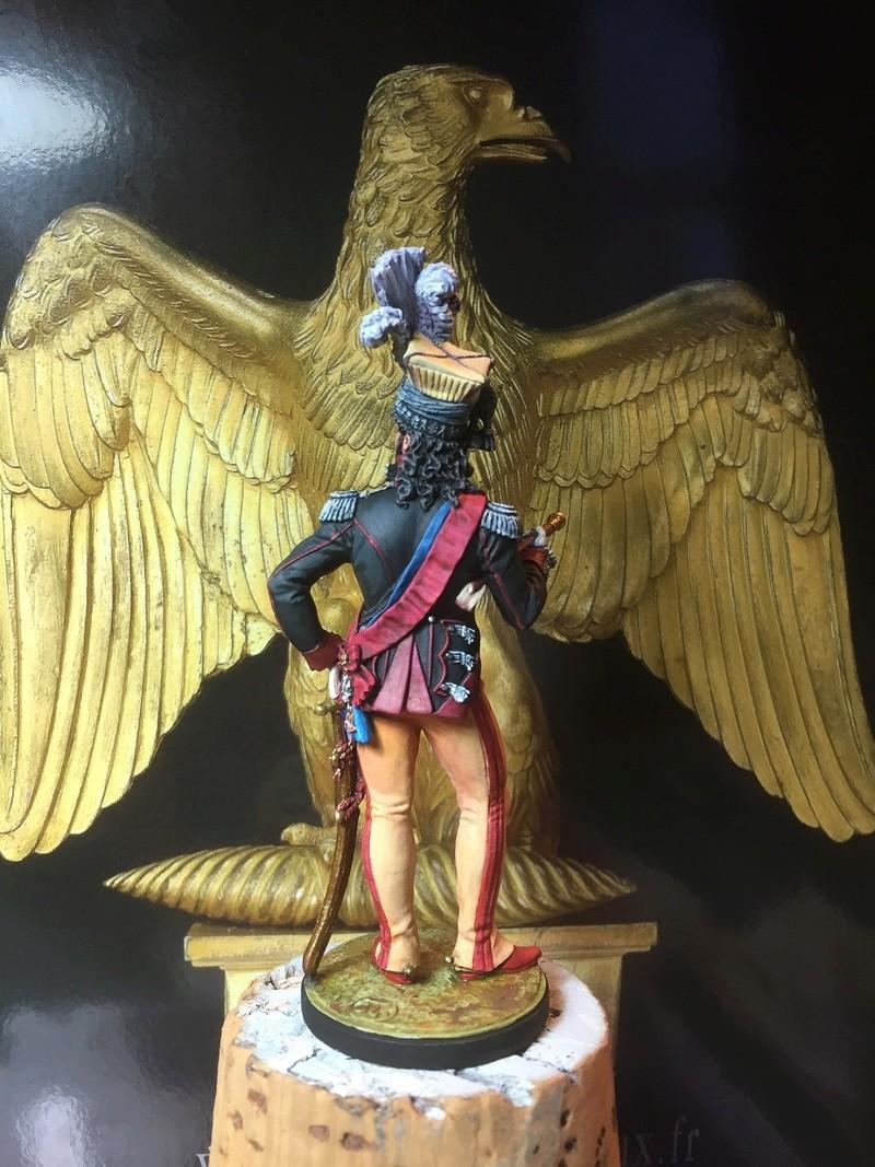 Murat en tenue de colonel des chevau-légers de sa garde. Murat114