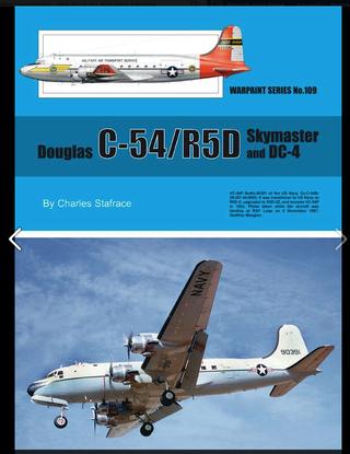 WARPAINT No 109 DOUGLAS C54/R5D . DC4 . Captur12
