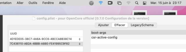 ( RESOLU) OpenCore-Patcher / erreur . 0011