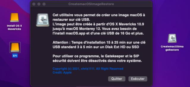 Create macOS Image Restore 126