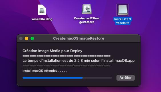 Create macOS Image Restore 1314