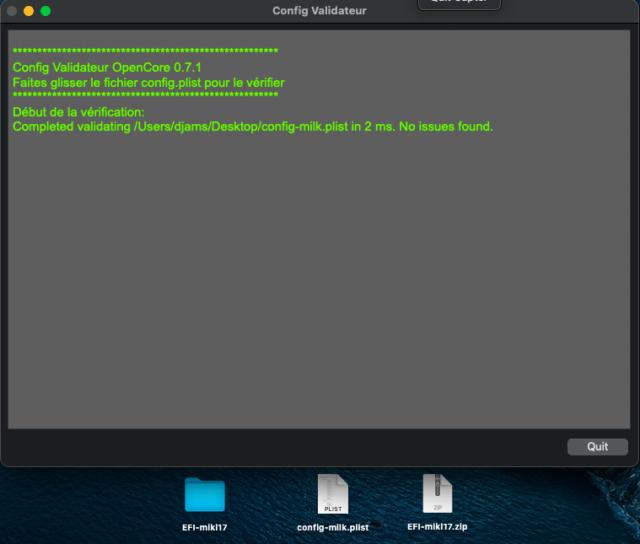 [résolu]mise à jour OpenCore bootloader Capt1037