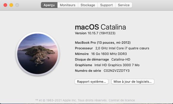 Catalina 10.15.7 beta  Capt1107