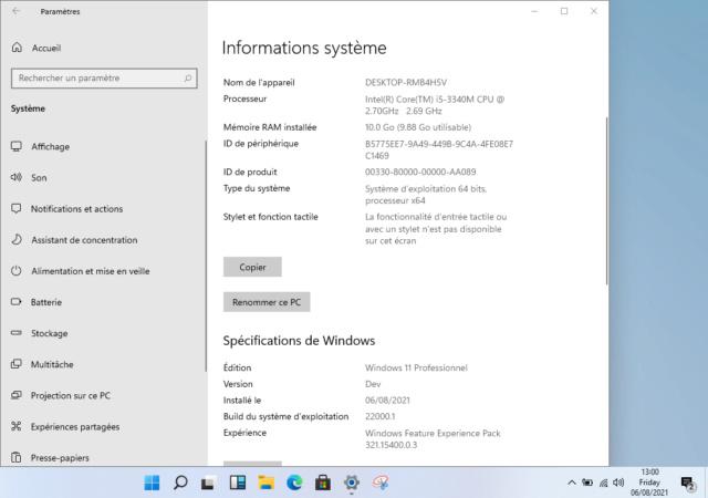 Windows-11 UEFI Créateur  Capt1133