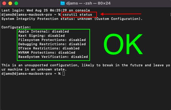 Tuto triple boot macOS avec opencore 073 Capt1175