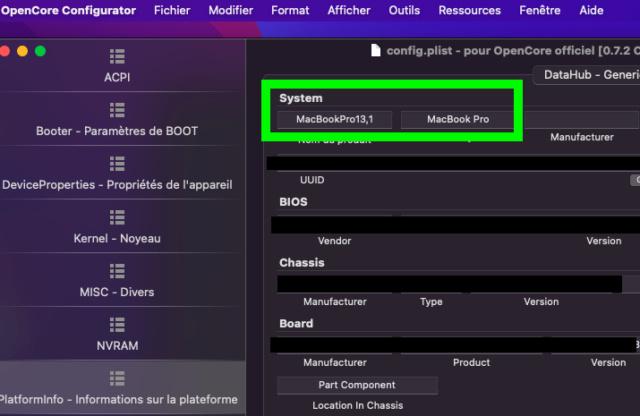 Tuto triple boot macOS avec opencore 073 Capt1188