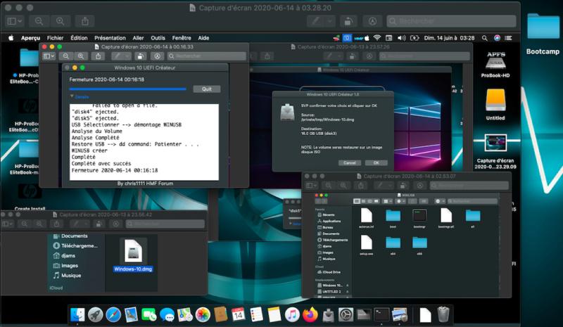 Windows 10 UEFI Créateur Captu128