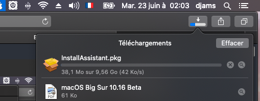 macOS Big Sur 11 / 11.1 / 11.2  (Beta) Captu155