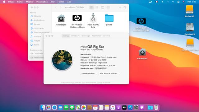MacOS Big Sur ,  BIO F74 ( HP 6570b ) 100% - Page 2 Captu228