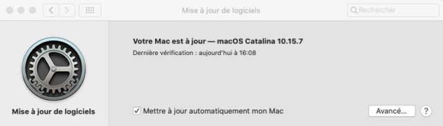Mise a jour macOS Catalina 10.15.7 (19H2) Captu344
