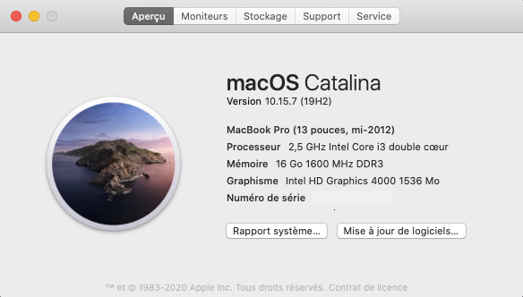 Mise a jour macOS Catalina 10.15.7 (19H2) Captu346