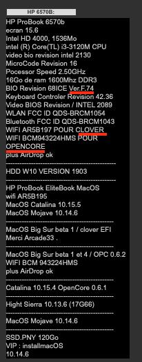 [résolu]update bios HP Probook 6570b Captu400