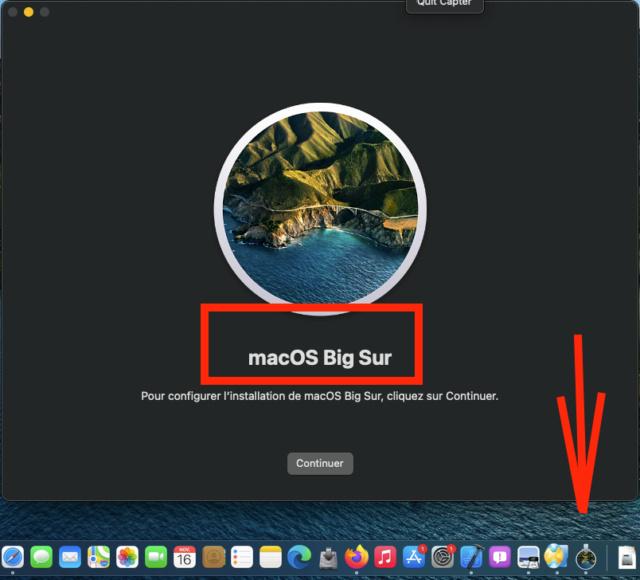 macOS Big Sur Date de sortie Captu442