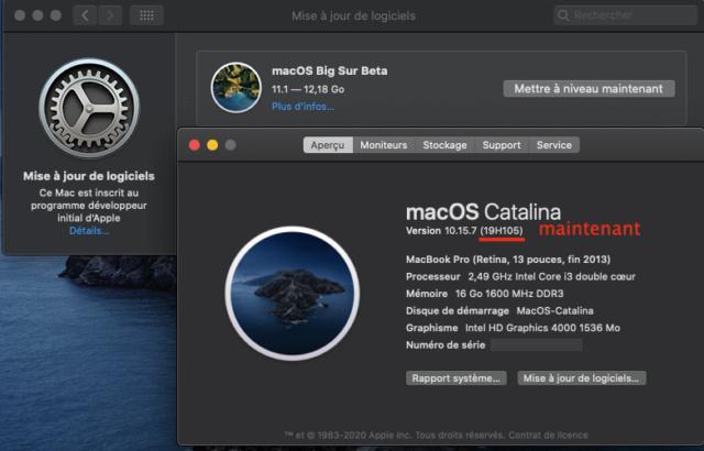 Catalina 10.15.7 beta  Captu475