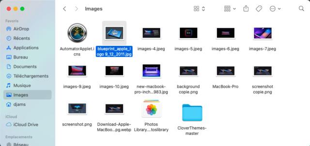 Fond d'ecran sous MacOS BigSur - Post solutionné Captu480