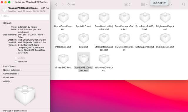 (resolu) trackpad absent clover 5129 Captu676