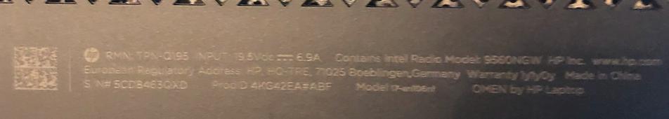 HP OMEN A FUMER  Captu701