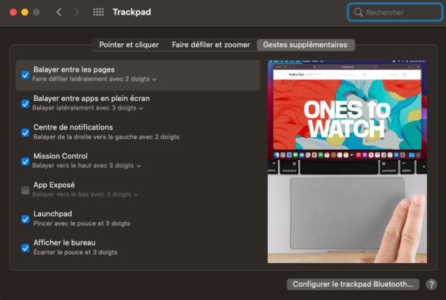 (resolu) trackpad absent clover 5129 Captu706