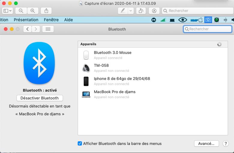 installation réussi sur HP 6570b i3 Captur48