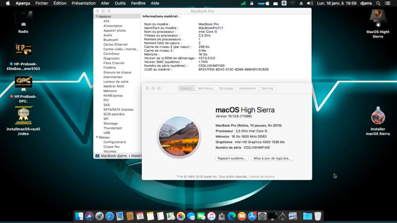Probleme avec l installeur macOS Catalina hd app High_s10