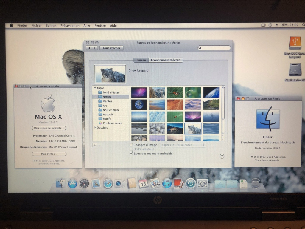 (RESOLU) projet macOS snow léopard 10.6.7 Img_4332