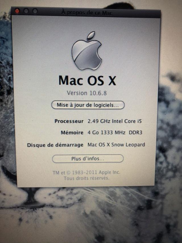 (RESOLU) projet macOS snow léopard 10.6.7 Img_4338