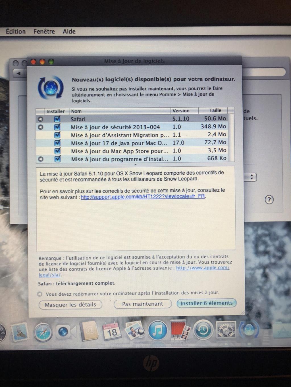 (RESOLU) projet macOS snow léopard 10.6.7 - Page 3 Img_4427