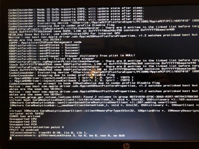 OK pour HP ProBook 6570b i3 / Big Sur et Clover EFI . Img_5127