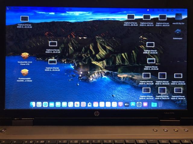 OK pour HP ProBook 6570b i3 / Big Sur et Clover EFI . Img_5129