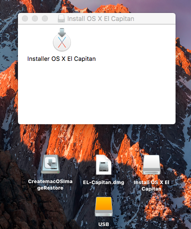 Create macOS Image Restore Sans_209