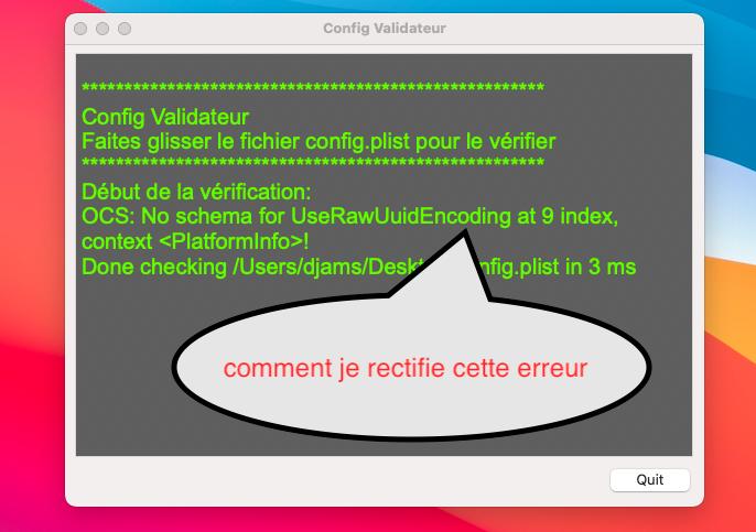 Config Validateur Sans_t67